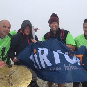 virtua charity flag mountain