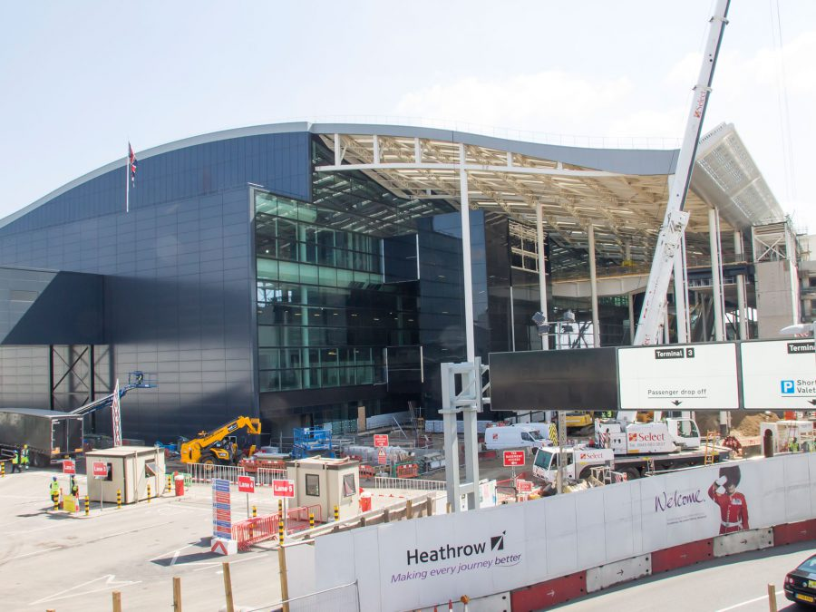 In Building Solution At Heathrow Airport Terminal 2