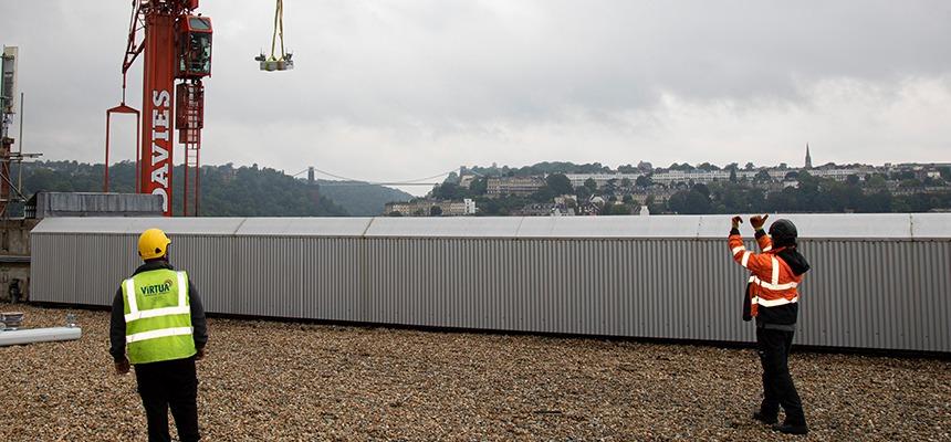 5G antenna install bristol