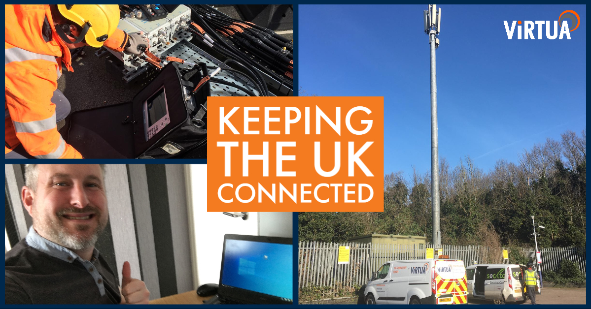 Keeping the UK Connected through COVID-19