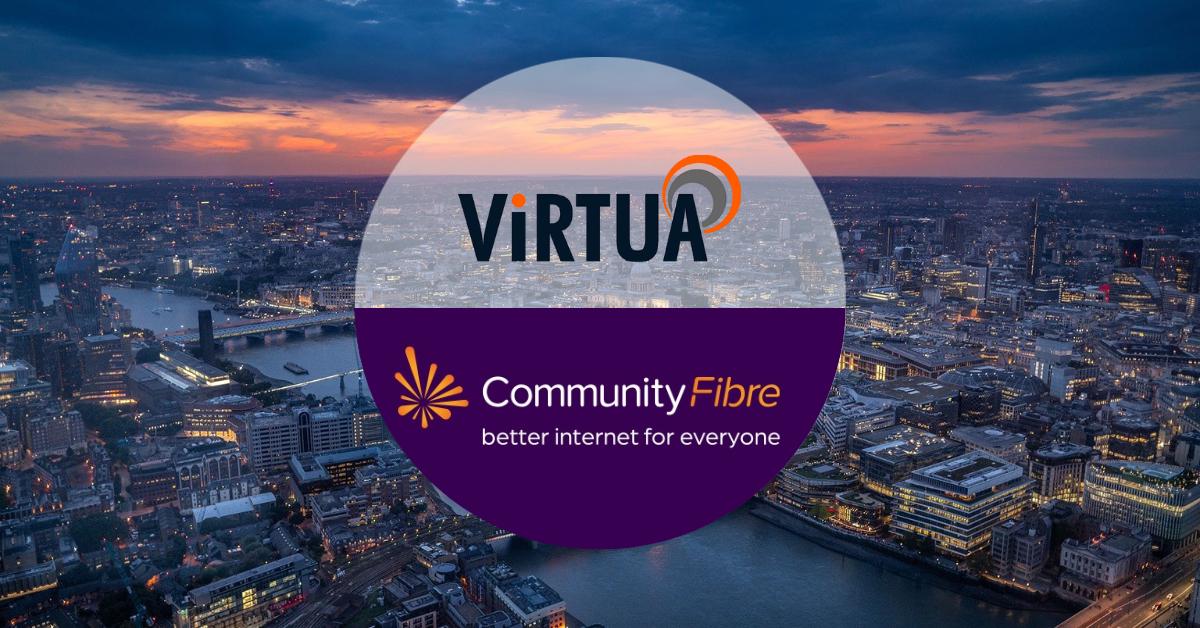 community fibre and virtua partnership fibre in london